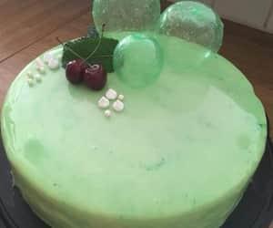 väcker, tårta, and gron image