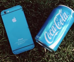 apple, blue, and colors image