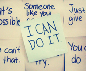 quotes, text, and i can do it image