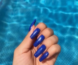 nail art, girly+chic+beauty, and nails+claws+goals image
