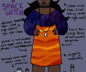 magick, moon, and spell image