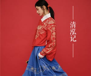 chinese, dress, and traditional image