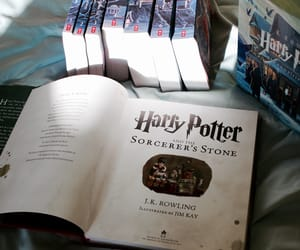 bibliophile, j. k. rowling, and books image