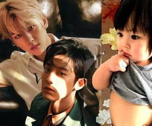 baby, chanbaek, and exo image