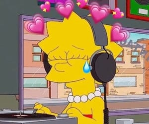 mood, vibes, and thesimpsons image