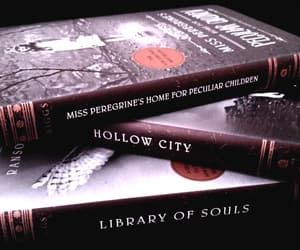 bibliophile, read, and miss peregrine image