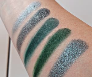 eyeshadow, makeup, and swatches image