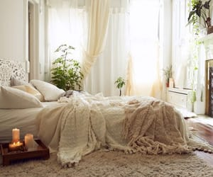 aesthetic, bedroom, and candles image