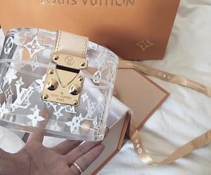 bag, Louis Vuitton, and bling bling image