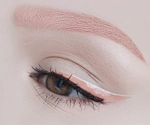 eye, eyebrow, and fashion image