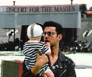 dave gahan, music for the masses, and depeche mode image