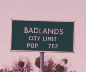 aesthetic, tumblr, and badlands image
