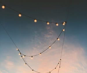 aesthetic, pretty, and sky image