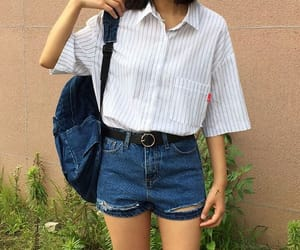 kfashion, korean fashion, and casual outfit image