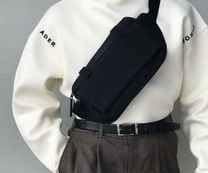 aesthetic, belt, and pants image