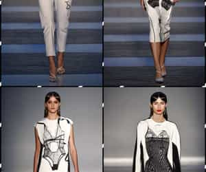 belleza, outfits, and blanco y negro image