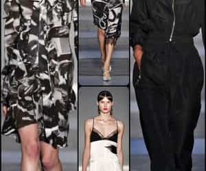 belleza, outfits, and desfile image