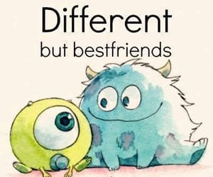 friends, different, and best friends image