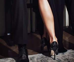 black, chic, and couple image
