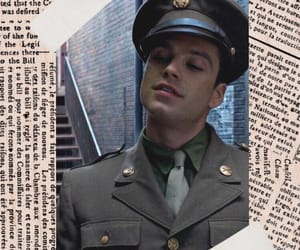 background, beige, and bucky image