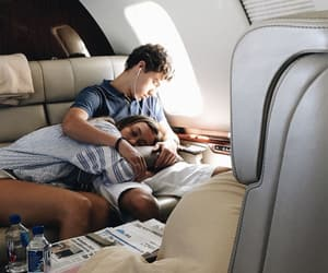 couple, goals, and plane image