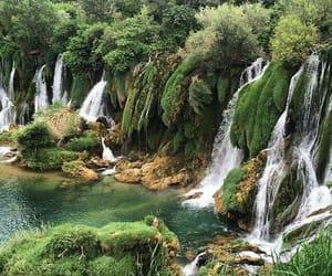 Bosnia, nature, and waterfalls image