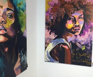 art, black, and gallery image