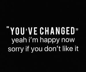 depressed, happy, and quote image