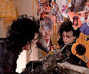 edward scissorhands and gif image