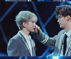 cai xukun, idol producer, and zheng ruibin image