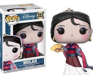 mulan, princess, and funko image
