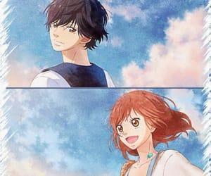 cute, anime girl, and love image