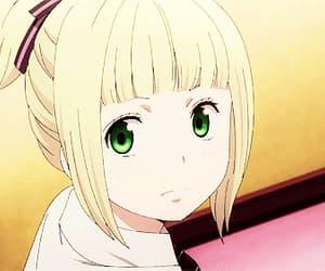 anime girl, gif, and ao no exorcist image