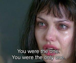 sad, Angelina Jolie, and quotes image