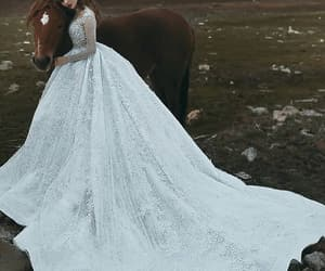 wedding, couple, and fashion image