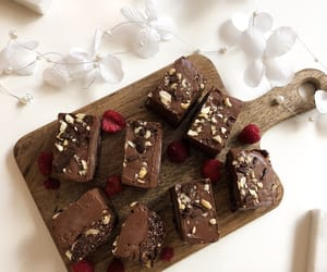 chocolate, healthy, and nuts image
