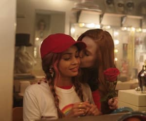 riverdale, choni, and madelaine petsch image
