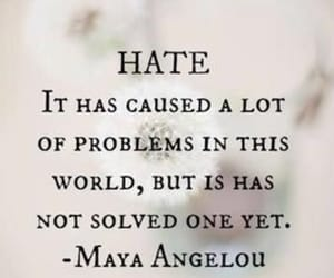 quotes, hate, and problem image