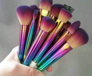 Brushes, make up, and pretty image