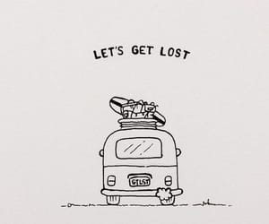 doodles, quotes, and travel image