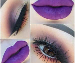 beuty, make up, and girls image