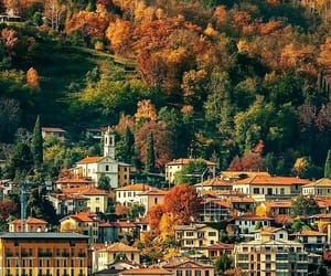 autumn, italy, and landscape image