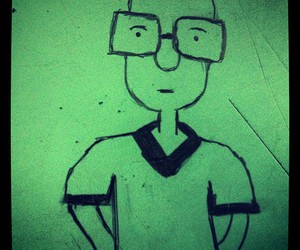 drawing #green #glasses image