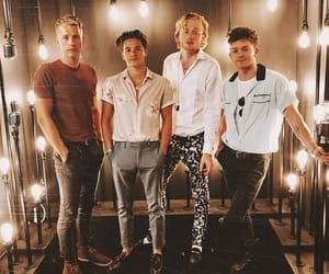 band, british, and tristan evans image