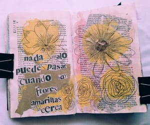amarillo, arte, and book image