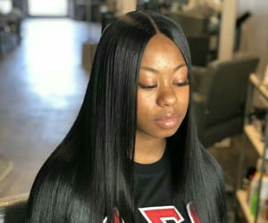 closure, fashion, and straight hair image