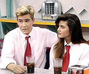 saved by the bell, tiffani-amber thiessen, and zack image