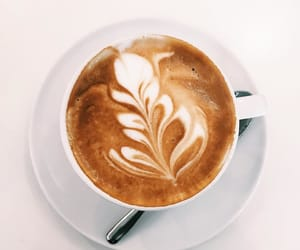 cappuccino, coffee, and drinks image