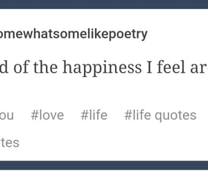 happiness, quotes, and scared image