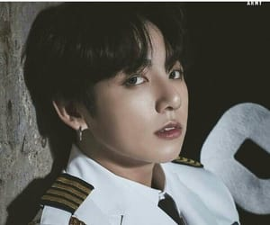 military, sexy, and jungkook image